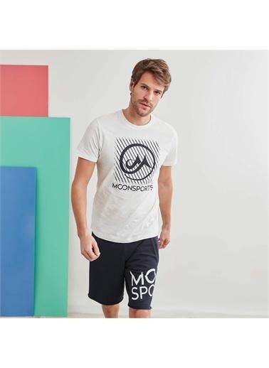 MoonSports Tişört Beyaz